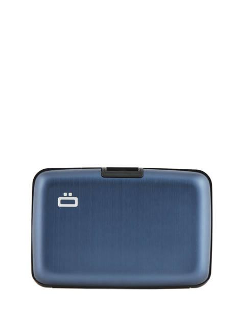 Porte-cartes Ogon Bleu classique 0005