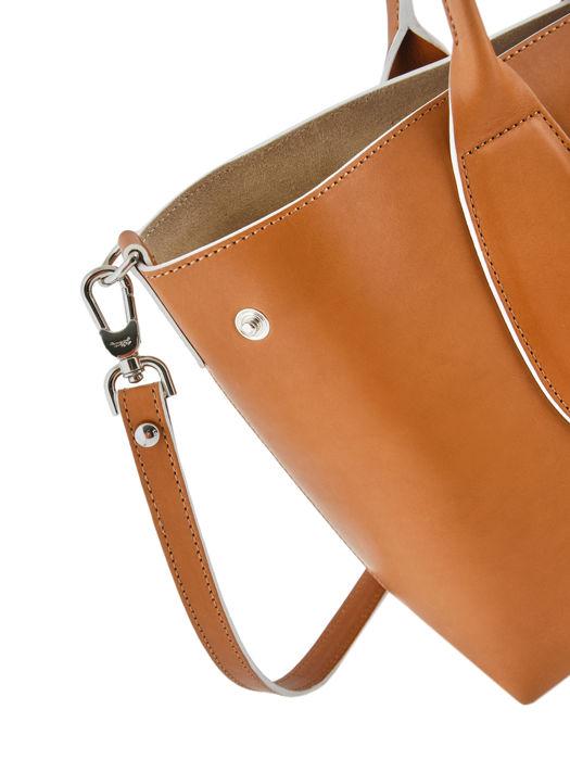 Longchamp Roseau luxe Sacs porté main Marron
