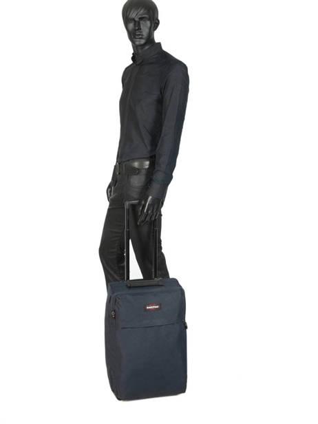 Valise Cabine Eastpak Bleu authentic luggage K36D vue secondaire 3