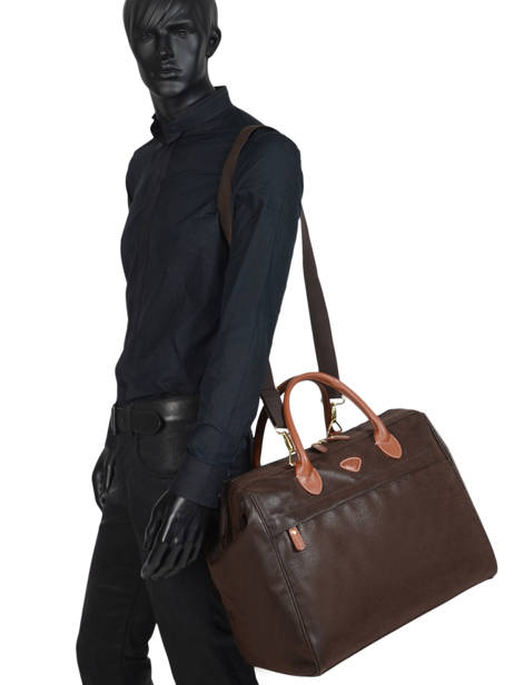 Carry-on Travel Bag Uppsala Jump Brown 4462NU other view 2