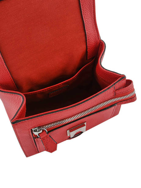 Top Handle S Ninon Leather Lancel Red ninon A09221 other view 4