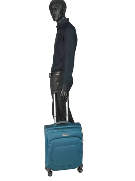 Cabin Luggage Samsonite Blue spark sng 65N004 other view 3