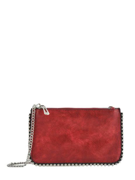 Sac Bandoulière Perle Miniprix Rouge perle H6740