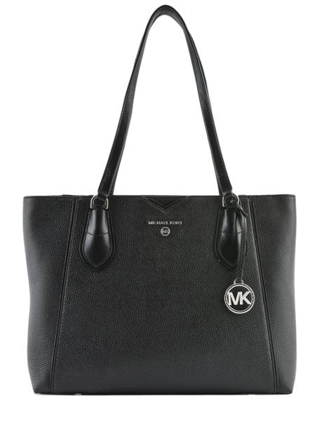 Leather Tote Bag Mae Michael kors Black mae H9SM5T2L
