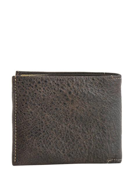 Wallet Leather Arthur et aston Black destroy 62-649 other view 1