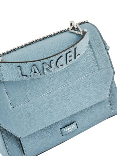 Top Handle M Ninon Leather Lancel Blue ninon A09222 other view 1