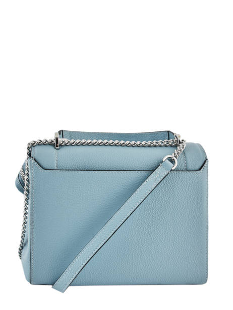 Top Handle M Ninon Leather Lancel Blue ninon A09222 other view 3