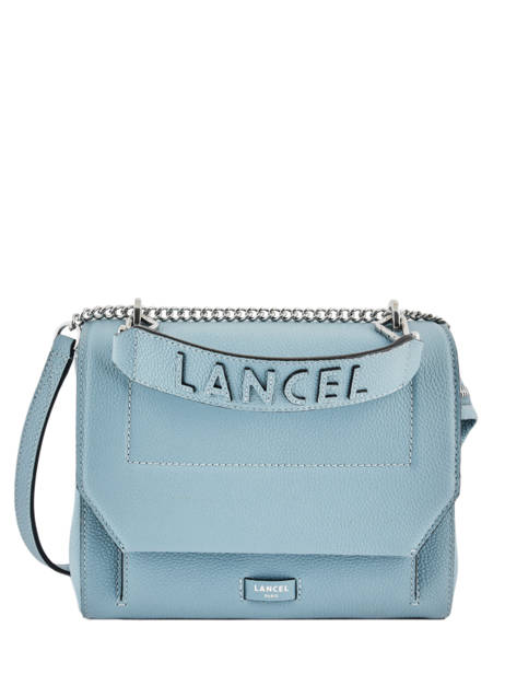 Top Handle M Ninon Leather Lancel Blue ninon A09222