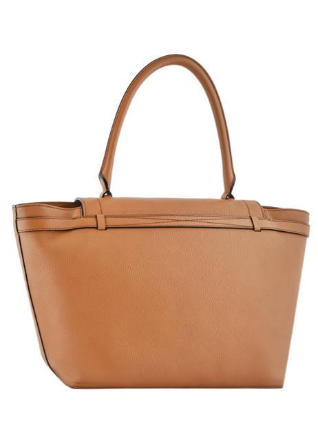 Large Leather Shoulder Bag Néo Charlie Lancel Brown neo charlie A10509 other view 3