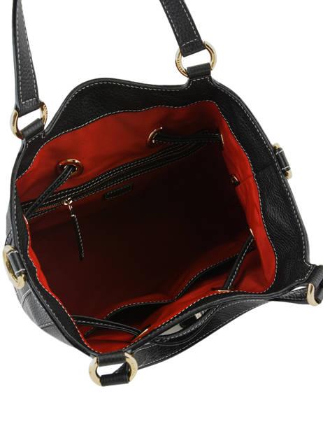 Medium Leather Bucket Bag Premier Flirt Python Lancel Black premier flirt A10529 other view 8