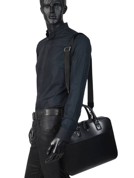 Leather Briefcase Sartorial Montblanc Black sartorial 118689 other view 2