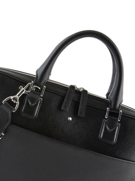 Leather Briefcase Sartorial Montblanc Black sartorial 118689 other view 1