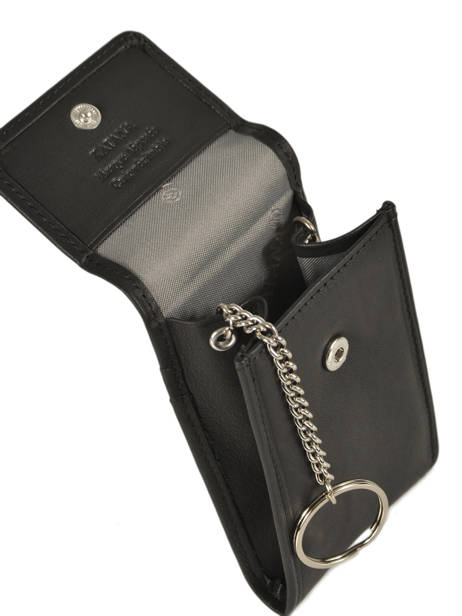 Key Holder Leather Katana Black daisy 553025 other view 1