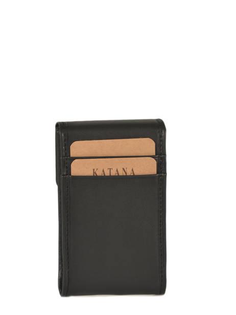 Key Holder Leather Katana Black daisy 553025 other view 2