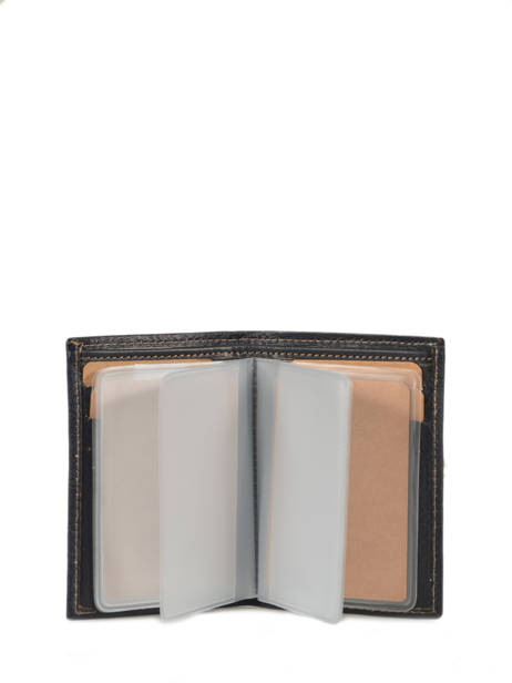 Porte-cartes Cuir Katana Bleu vachette gras 853038 vue secondaire 1