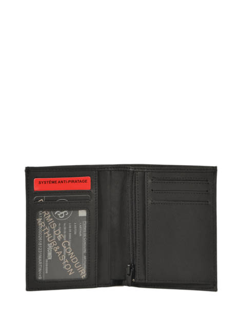 Leather Wallet Bart Arthur et aston Black bart 1978-966 other view 1