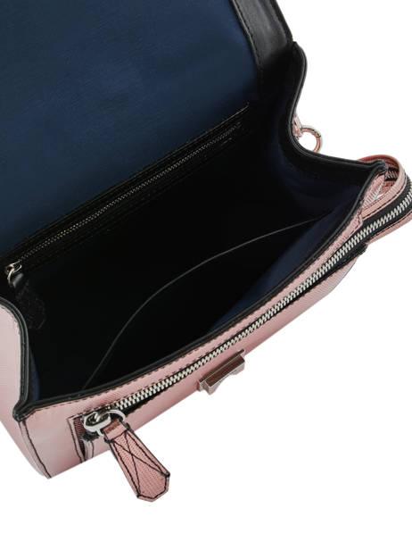 Medium Leather Handbag Ninon Lancel Pink ninon A10418 other view 5