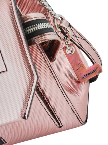 Medium Leather Handbag Ninon Lancel Pink ninon A10418 other view 2