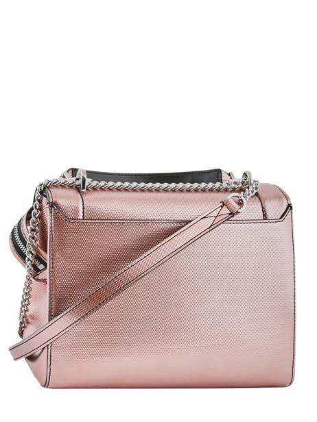 Medium Leather Handbag Ninon Lancel Pink ninon A10418 other view 4