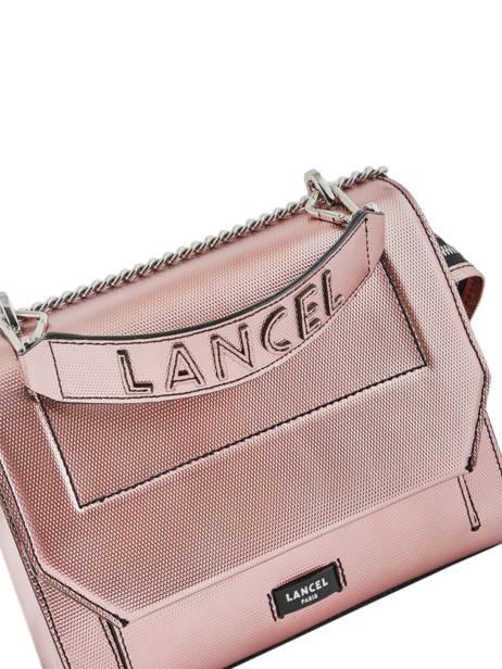 Medium Leather Handbag Ninon Lancel Pink ninon A10418 other view 1