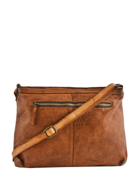 Leather Crossbody Bag Heritage Biba Brown heritage BT16 other view 3