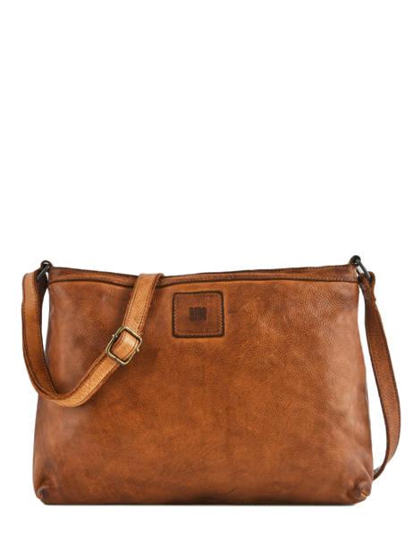 Leather Crossbody Bag Heritage Biba Brown heritage BT16