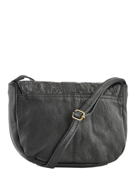 Leather Crossbody Bag Nelli Pieces Black nelli 17102053 other view 3