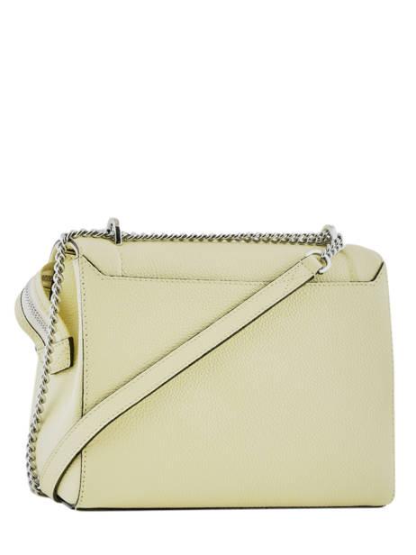 Top Handle M Ninon Leather Lancel Yellow ninon A09222 other view 3