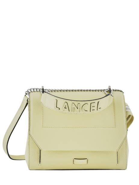 Top Handle M Ninon Leather Lancel Yellow ninon A09222