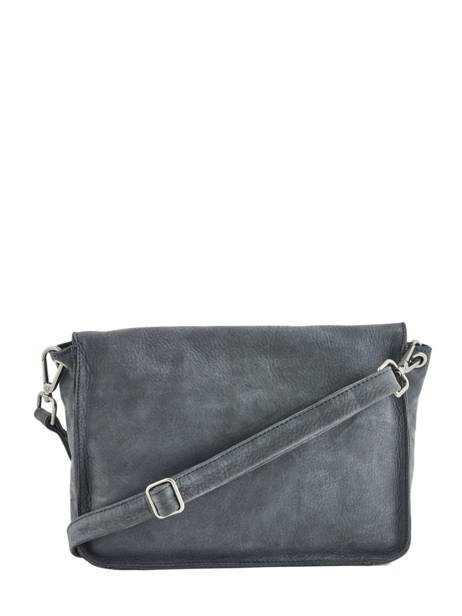 Leather Crossbody Bag Collins Biba Blue collins FORL5 other view 3