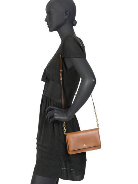 Leather Crossbody Bag Bennington Lauren ralph lauren Brown bennington 31768088 other view 2