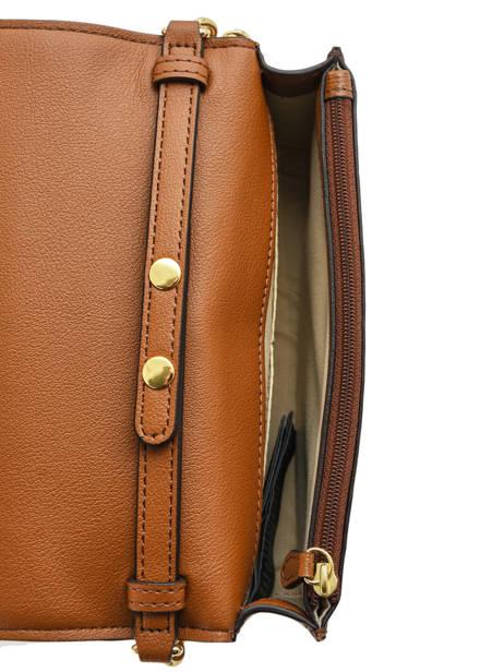 Leather Crossbody Bag Bennington Lauren ralph lauren Brown bennington 31768088 other view 4