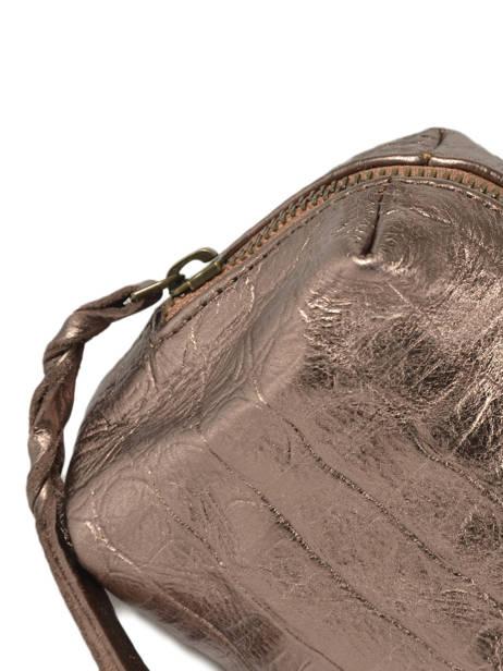 Case Vintage Leather Paul marius Beige caiman ADELECAI other view 1