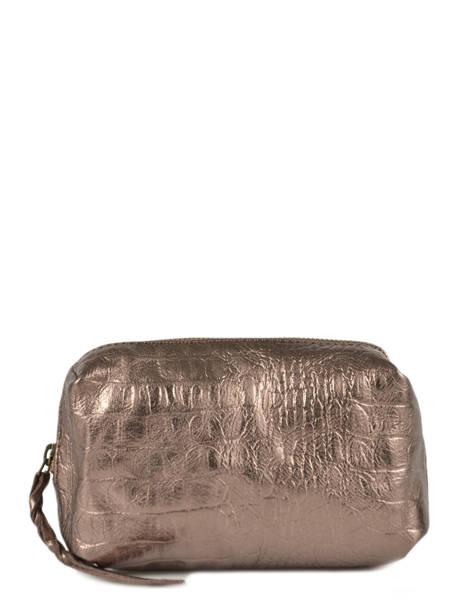 Case Vintage Leather Paul marius Beige caiman ADELECAI