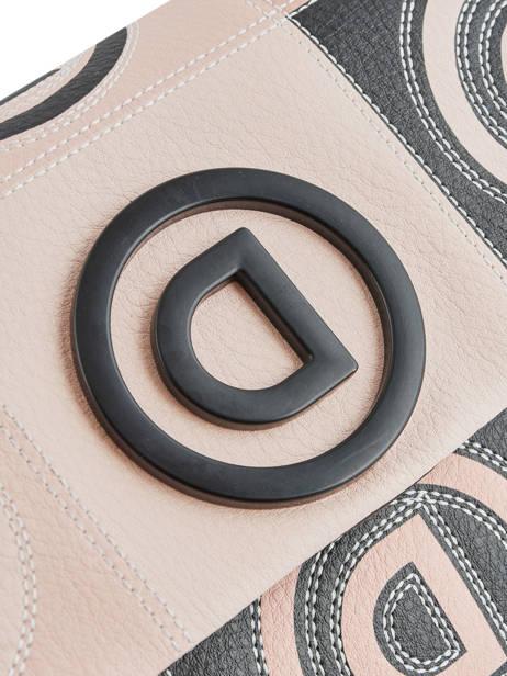 Sac Bandoulière Logo Patch Desigual Rose logo patch 20SAXPAS vue secondaire 1