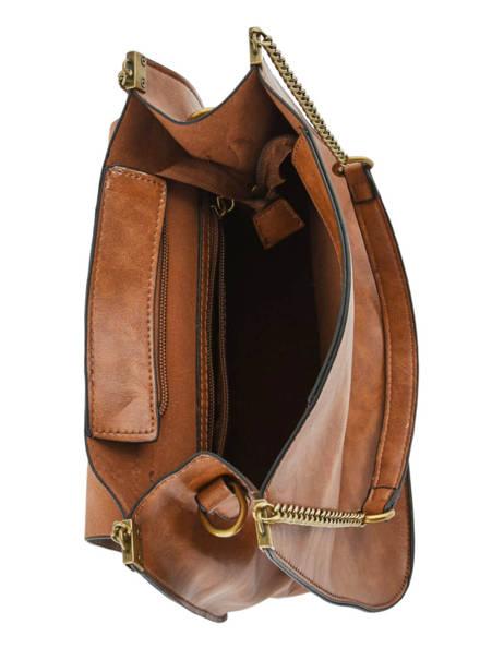 Shoulder Bag Seventy Miniprix Brown seventy S6111 other view 4