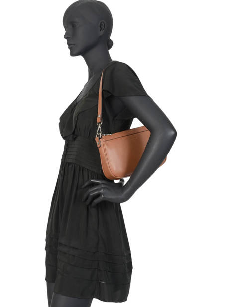 Shoulder Bag Confort Leather Hexagona Brown confort 462348 other view 2