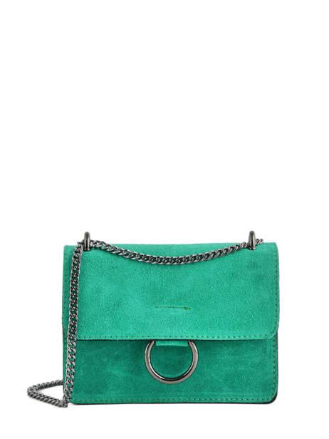 Shoulder Bag Velvet Milano Green velvet VE17111
