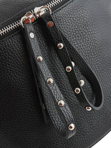 Leather Shoulder Bag Caviar Milano Black CA19115 other view 1