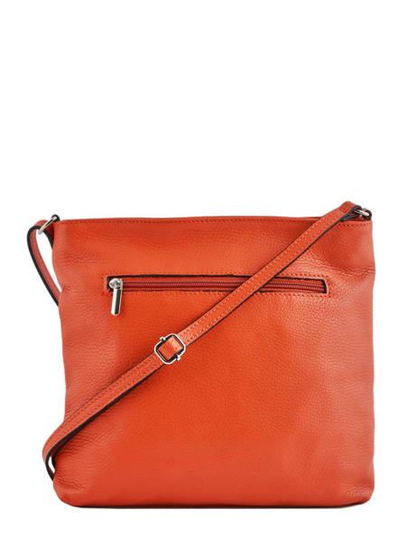 Crossbody Bag Leather Milano Orange CA19117 other view 2