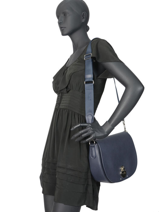 Longchamp Cavalcade Messenger bag Blue