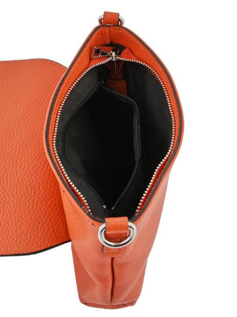 Shoulder Bag  Leather Milano Orange CA19034 other view 4