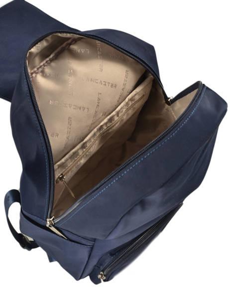 Backpack Lancaster Blue basic vernis 514-86 other view 4