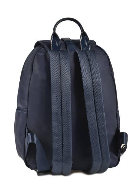 Backpack Lancaster Blue basic vernis 514-86 other view 3
