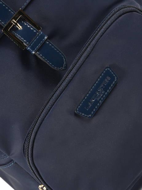 Backpack Lancaster Blue basic vernis 514-86 other view 1