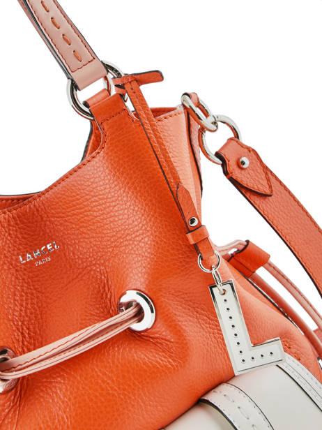 Sac Seau M Premier Flirt Bicolore Cuir Lancel Orange premier flirt A10596 vue secondaire 2
