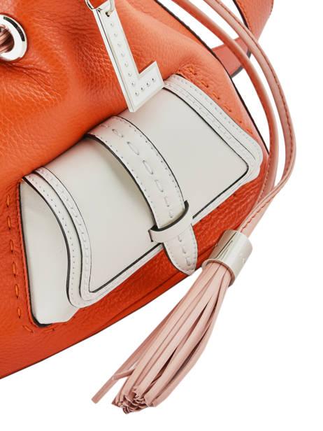 Sac Seau M Premier Flirt Bicolore Cuir Lancel Orange premier flirt A10596 vue secondaire 1