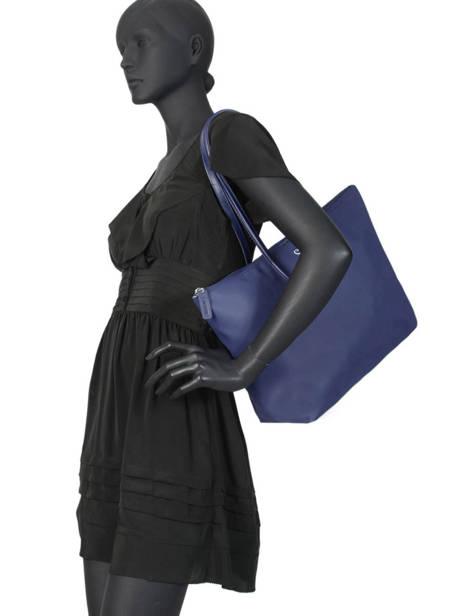 Shoulder Bag L.12.12 Concept Lacoste Blue l.12.12 concept NF1888PO other view 2