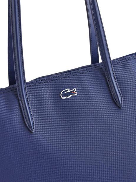 Shoulder Bag L.12.12 Concept Lacoste Blue l.12.12 concept NF1888PO other view 1