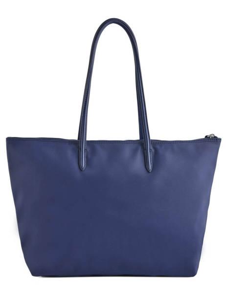 Shoulder Bag L.12.12 Concept Lacoste Blue l.12.12 concept NF1888PO other view 3